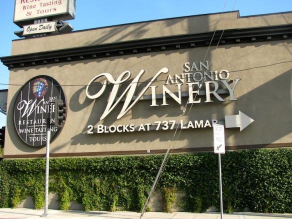 San Antonio Winery in Los Angeles
