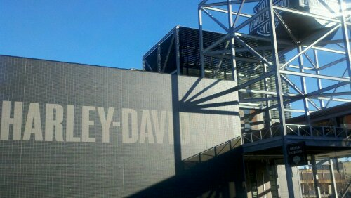 The Harley-Davidson Museum