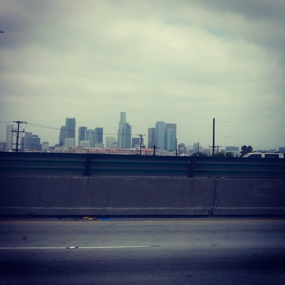 Leaving Los Angeles...