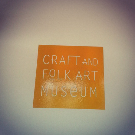 Craft and Folks Art Museum